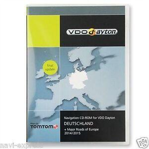 VW-Phaeton-bis-05-2007-Navigation-CD-SET-Deutschland-2015-Letztes-Update