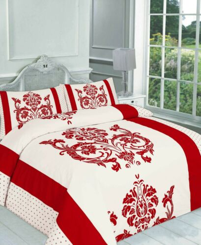 Darcy Floral Duvet Quilt Cover Double King Brown Black Bedding Set