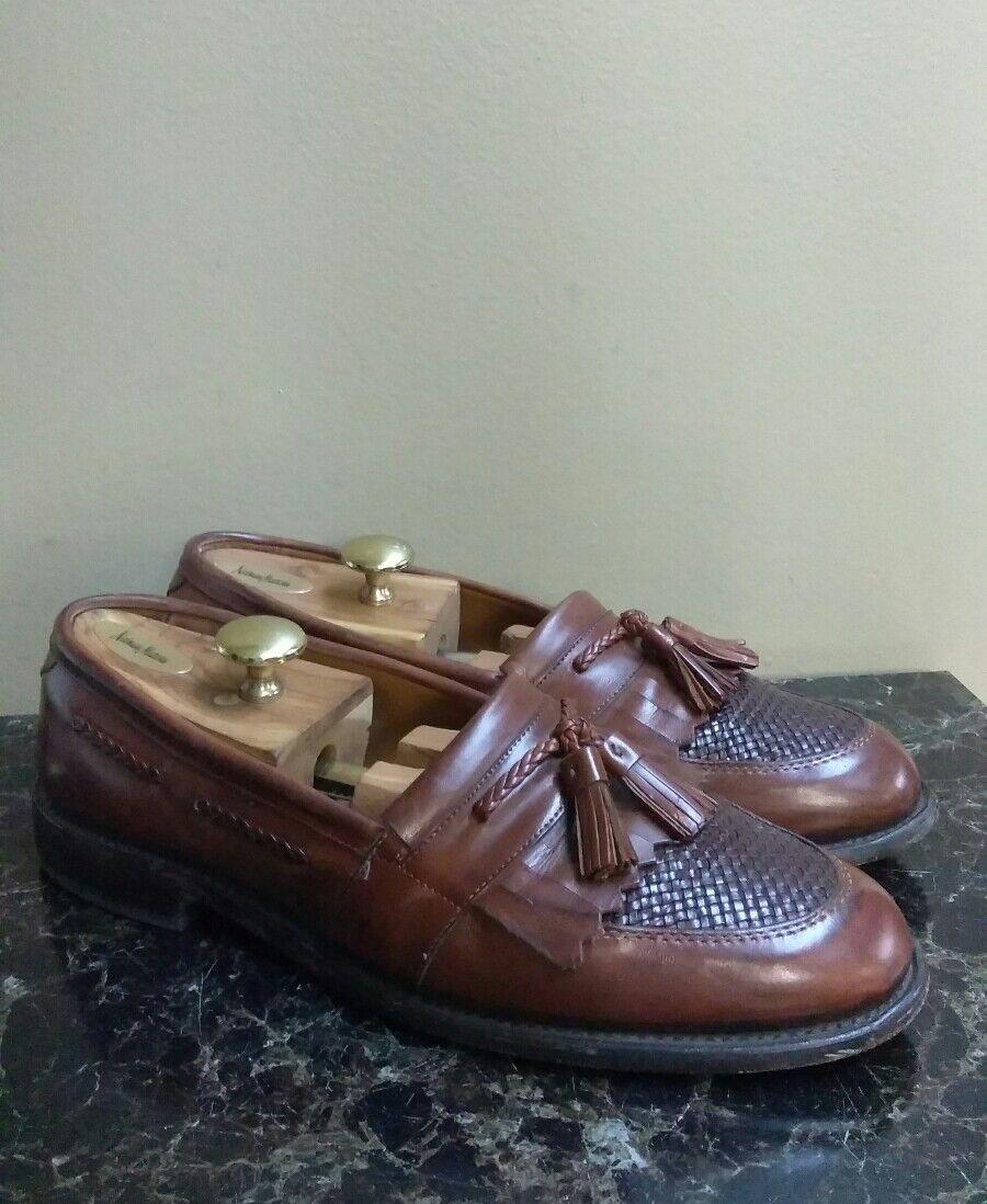 Allen Edmonds Cody Men's Footwear Cognac Moccasin Fashion Loafers Footwear Men's USA 11 D 7d5d29