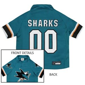 San-Jose-Sharks-NHL-Pets-First-Licensed-Dog-Pet-Hockey-Jersey-Sizes-XS-XL