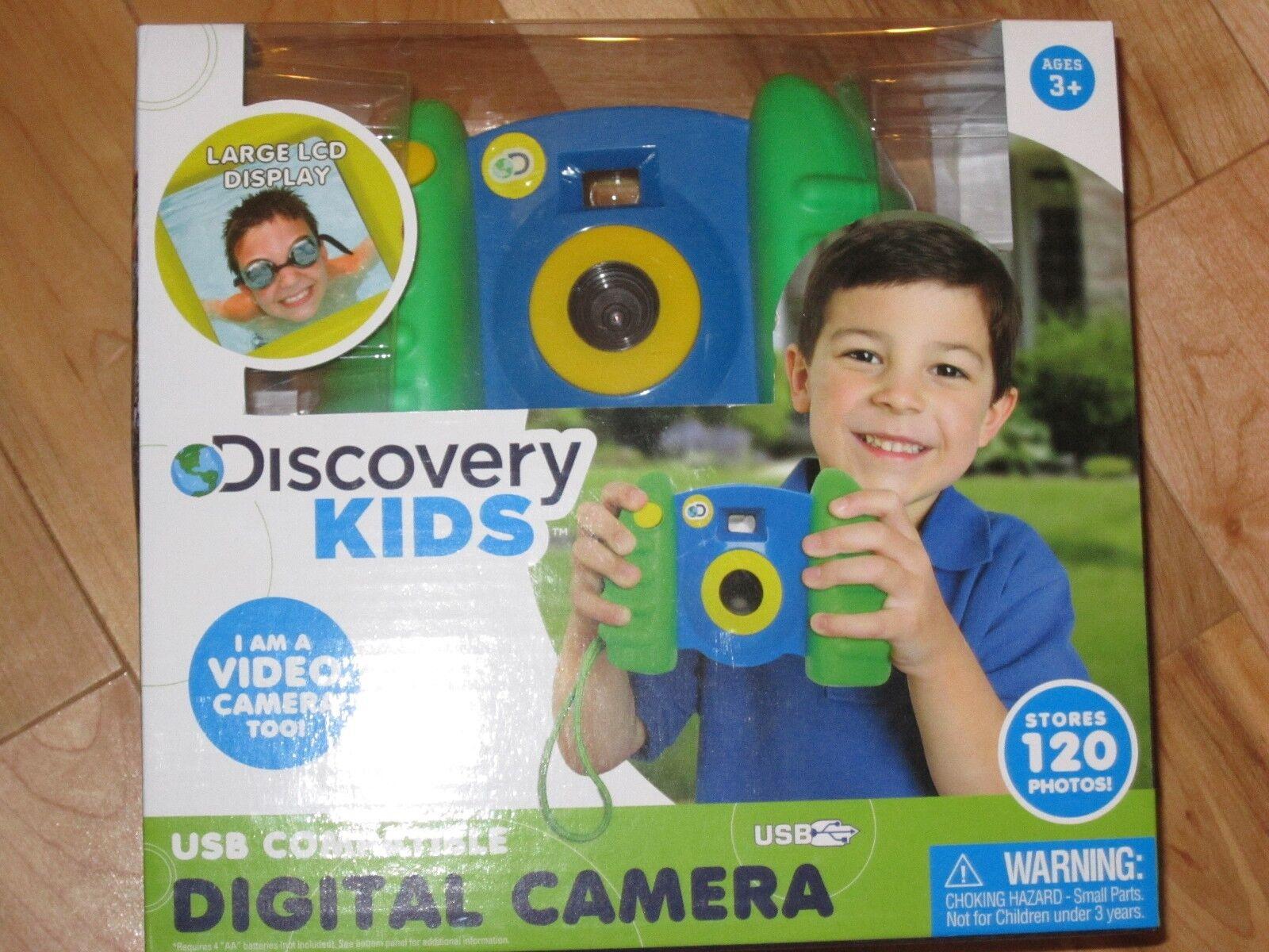 Discovery kids usb - kompatible blau - grün digitalkamera - 120 foto 1.5 lcd
