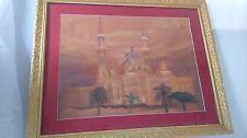 Peinture orientaliste. orientalist painting palais orient palace