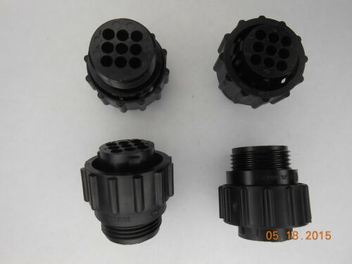 Lot of 5 TE Connectivity//AMP 206708-1 CPC Standard Plug Assembly Size 13-9