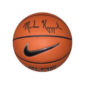 62d29fe0b79 Image is loading Mike-Krzyzewski-signed-Nike-Elite-NCAA-Basketball-Coach-