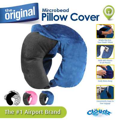 TravelPro Memory Foam Neck Travel Pillow with Machine Washable Removable Cover