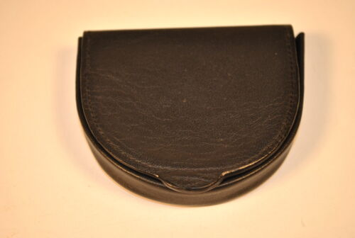 Old Fashioned Coin Tray Purse Black
