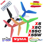 Update SYMA X5 X5C X5SC X5SW Hélices. Actualización Syma drone helices. Nuevos.
