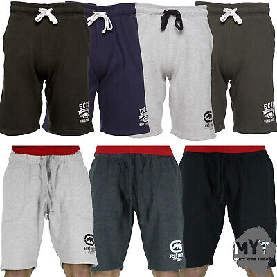 Freundlich Mens Casual Ecko Unlimited World Famous Track Pants Casual Fleece Sweat Shorts