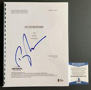 Ben-Feldman-Autographed-Superstore-Pilot-Episode-Full-Script-Signed-Beckett-COA
