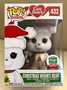 Christmas Wishes Bear.Details About Funko Pop Care Bears 12 Days Of Christmas Christmas Wishes Bear Limited Edition