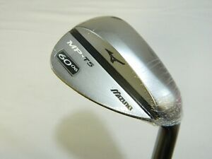 New-Mizuno-MP-T5-White-Satin-single-60-Lob-Wedge-60-06-Dynamic-Gold-Wedge-flex