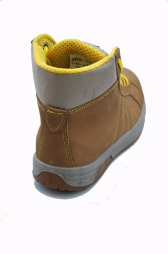 Vepro G4874 S3 Sicherheitsschuhe Arbeitsschuhe Sneaker Boots metallfrei braun