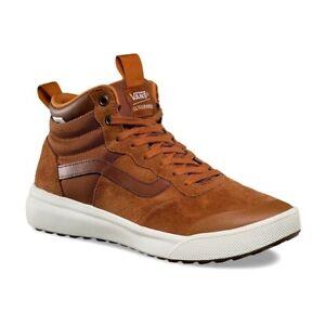 048b9abb4b Vans UltraRange Hi (MTE) Glazed Ginger UltraCush Mens Skate Shoes ...