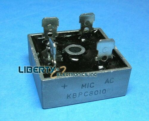 80 amp Full Wave Bridge Rectifier KBPC8010 For converting AC to DC hho use 80a