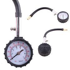 Tyre Air Pressure Gauge Meter Tester 0-100 PSI Car/Truck/Motorcycle/Bike/Van