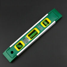 9inch Neodymium Magnetic Aluminum Torpedo Spirit Level Triple Ruler Measure Tool