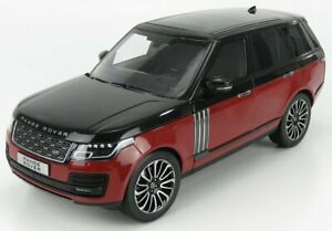 LCD-MODEL 1/18 LAND ROVER | RANGE ROVER SV AUTOBIOGRAPHY DYNAMIC 2020 | RED B...