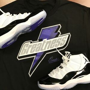 a31d0ec026225c Image is loading Shirt-Match-Jordan-11-Concord-Greatness-Tee-Shirt