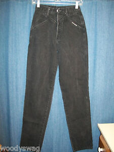 Rocky-Mountain-Clothing-Jeans-Size-28-7-Rodeo-Black-100-cotton-Cut-7387