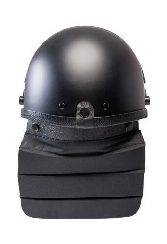 Riot Schutzhelm mit Visier und Nackenprotektoren Einsatzhelm Größe verstellbar