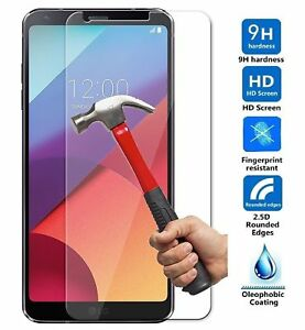 2PCS Genuine Tempered Glass Film Screen Protector Guard For LG Q6 G6 Hot