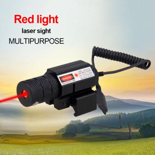 Pistol Rifle Red Dot Laser Sight Adjust Pressure Switch Control for 20mm Rails