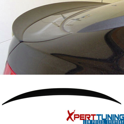 Fit For 2008-2014 BMW E71 X6 SUV P Style Unpainted ABS Trunk Spoiler