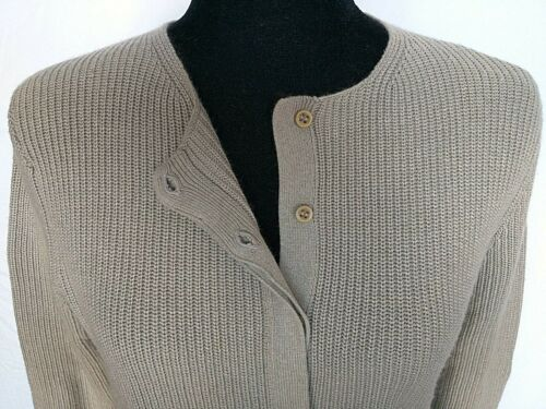 Usa Klein Light Maniche lunghe tags Pebble Ladies Grey Colour Anne Cardigan Made zU4dwxz
