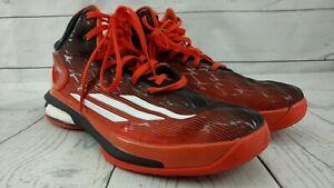 ADIDAS-Crazylight-Boost-2014-Men-039-s-Sneaker-in-Men-Size-9-5-Orange-and-Black