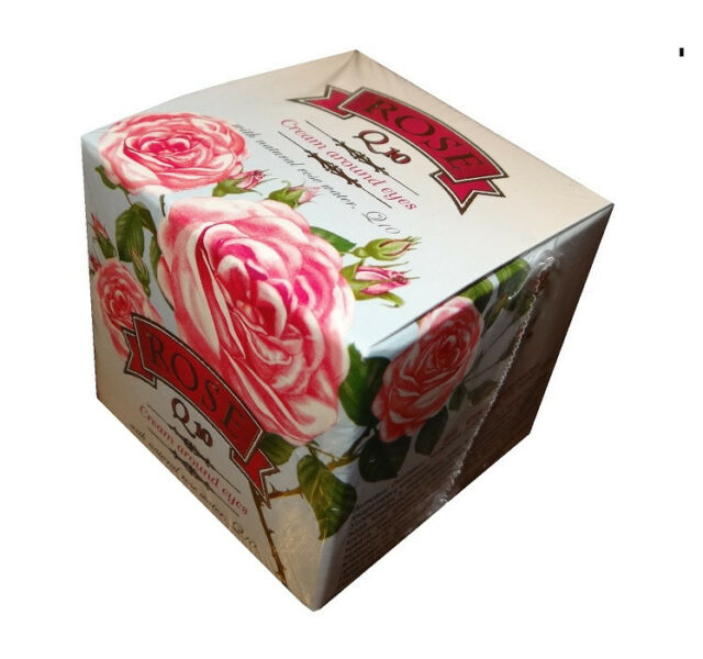 Eye Cream From Rose Oil and Q10,15ml from Rose Valley-With Tightening Effect