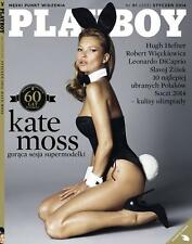 Playboy 1/2014 front Kate Moss with Wall Calendar Marilyn Monroe (front)