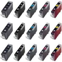 Chipped Compatible Printer ink Cartridges Canon PGI-5 / CLI-8