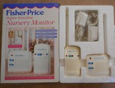 FISHER PRICE Super Sensitive Nursery Baby Monitor #1555 Portable Receiver 2 Chan