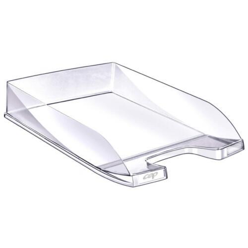 B-WARE CEP 6 Basics Office Briefkorb Ablagefach Ablagesystem glasklar 10 Stück
