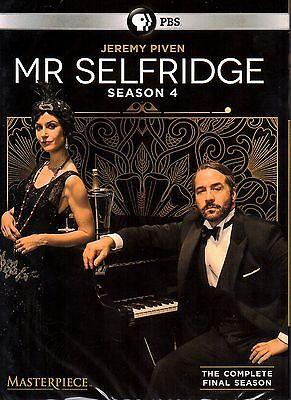Mr Selfridge: Complete Fourth Season 4 (2016, DVD, 3-Disc Set)