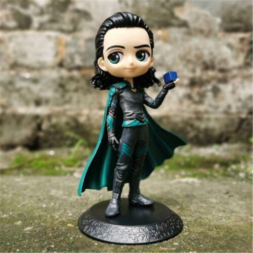 Figurine Thor Iron Man Spider Man Loki Avengers Mini Modèle Poupée Jouet Cadeau