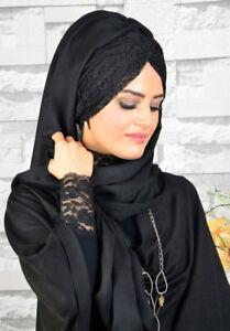 Doux Bd3044 Fini Foulard Hazir Burgu Bandana Türban Sal Tesettür Hijab Khimar-afficher Le Titre D'origine