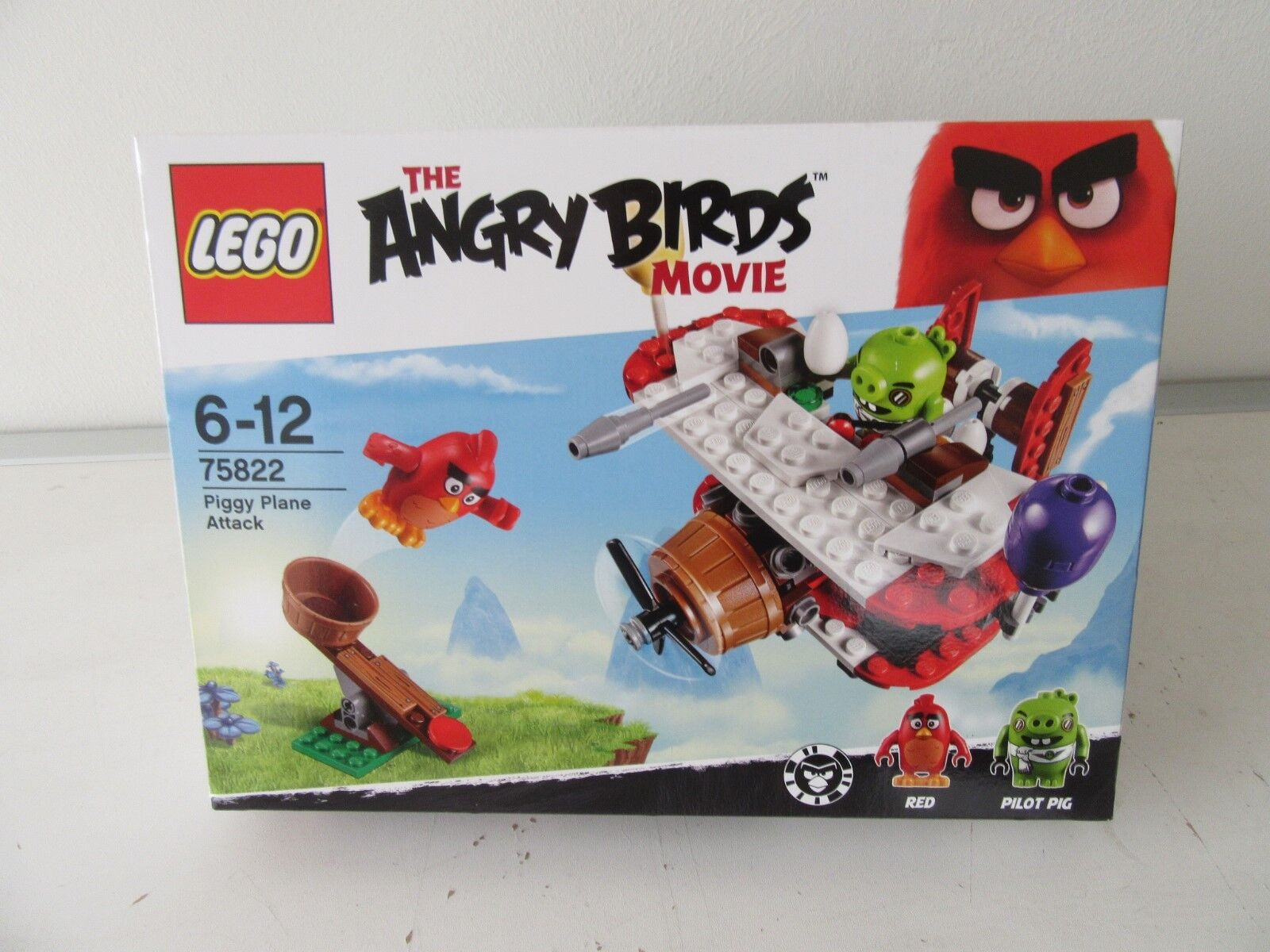 LEGO ®  75822 The Angry Brids  PiggyVliegtuig aanval.