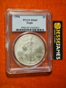 2018 Sillver Eagle-Blue Label-PCGS MS69-4 Coin Deal