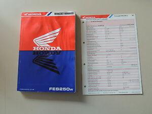 Honda FES 250 ab 1998 Werkstatthandbuch Reparaturanleitung - Flensburg, Deutschland - Honda FES 250 ab 1998 Werkstatthandbuch Reparaturanleitung - Flensburg, Deutschland