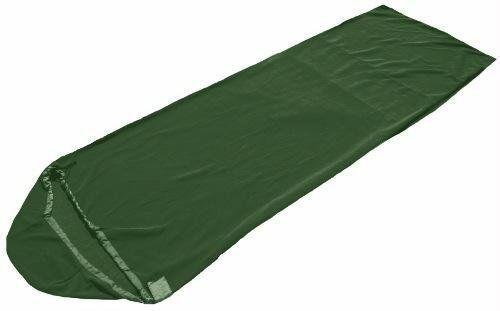 SnugPak Fleece Sleeping Bag Liner Olive Grün