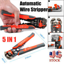 5in1 Automatic Wire Stripper Cutter Crimper Cable Stripping Pliers Terminal Tool