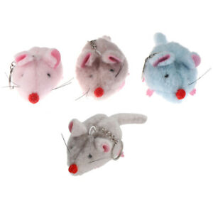 New-Mouse-Plush-Toy-Key-Ring-Pendant-Car-Ornament-Bag-Accessary-Cat-Toys-WA
