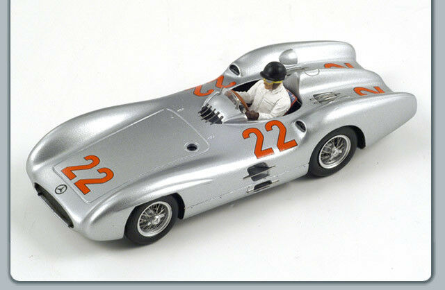 Mercedes H.Hermann French Gp 1954 1:43 Spark Sp1037 Modellino