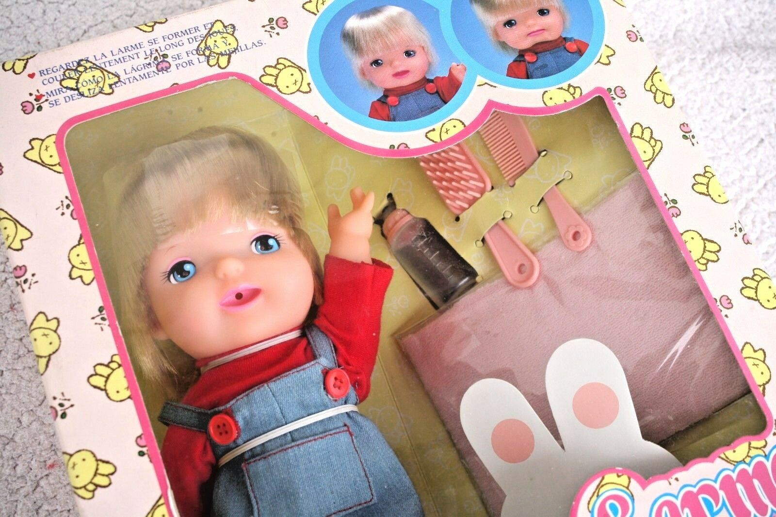 PREMIERE LARME DOLL (TEARS). FIRST REAL CRYING IN THE WORLD  BANDAI 90´S, BN OS