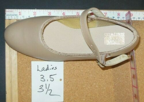 "Character Shoes ch//ladies Tan  #3508 dance 1.5/""heel leather sole RUNS SMALL"