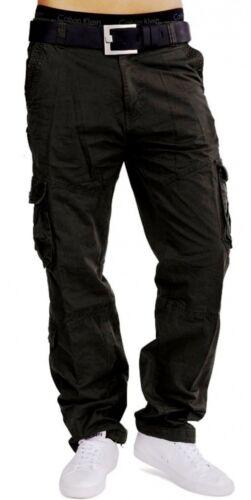 Uomo Pantalone Cargo Vintage Cargo Pant Army Style Wanderhose Trouser MILITARE PANTS