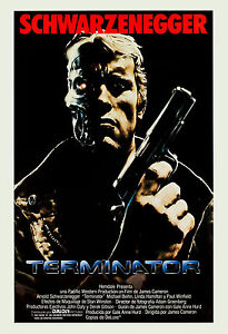 1980's Scifi: The Terminator * Arnold Schwarzenegger Spain