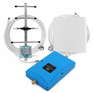 Details about 4G LTE Band 20 800MHz Mobile Signal Booster 70dB Repeater  Amplifier Antenna Kit