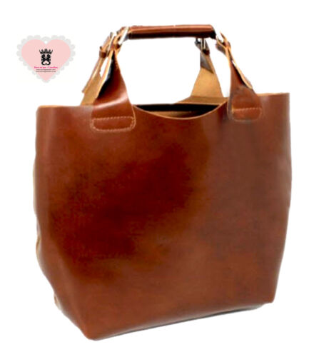 Real Italian Leather 2 bags in one Brown  182802922050  -  35.00 ... 39a74682c2298